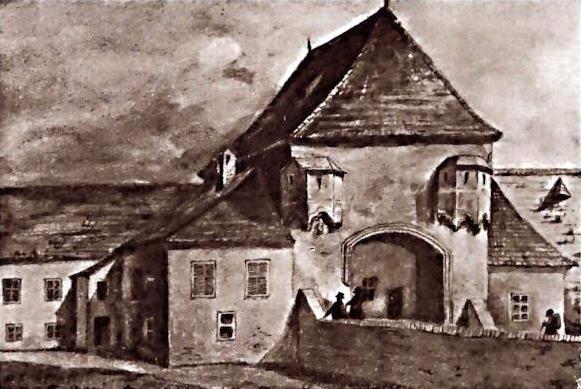 3Lausserova (Lovčická) brána pri kláštorku klárisiek v Trnave